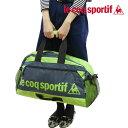 ルコック スポルティフ バッグ 2WAYが便利なボストンショルダーバッグ♪