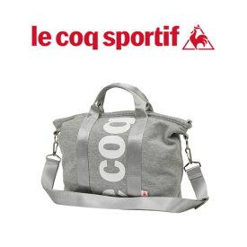 ルコック トートバッグ ルコックスポルティフ lecoqsportif バッグ スウェット ショルダーベルト付きスウェット素材の人気手提げバッグ