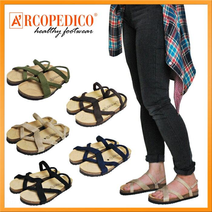 【SALE】ARCOPEDICO/アルコペディコ サンタナ/SANTANA サンダル レディース 靴 【国内正規品】