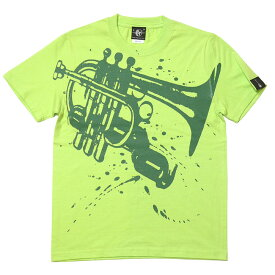 Funk Jazz Tシャツ (ライムグリーン) hw003tee-lm -G完- グラフィック ジャズ ブルース ファンク スウィング 音楽 バンビ オリジナル 半袖 かっこいい おしゃれ メンズ レディース ユニセックス コットン綿100% 緑色 大きめサイズ【RCP】