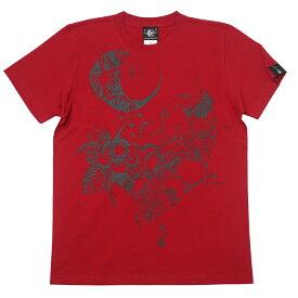 蠍座ガール (Scorpio Girl) Tシャツ (レッド) baster great bg019tee-rd-Z完- サソリ さそり座 星座 神話 イラスト コラボ かわいい きれいめ カジュアル メンズ レディース ユニセックス 半袖tee 大きいサイズ 赤色 コットン綿100% Tシャツ屋さんバンビ【RCP】