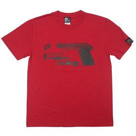Tokyo Drowning Tシャツ ( レッド ) The Ghost Writer tgw004tee-rd-Z完- 半袖 パンクロックTシャツ グラフィック アメカジ カジュアル バックプリント かっこいい メンズ レディース ユニセックス 赤色 コットン綿100% オリジナルブランド【RCP】