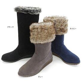 ブーツ レディース ファー 内ボア 女性用 ブランド COULEUR VARIE 774261