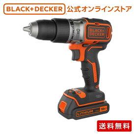 【ポイント3倍】 ブラックアンドデッカー (公式) BL188K2 18V ブラシレス振動ドリルドライバー 正規品