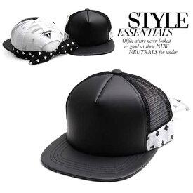 キャップ レディース メンズ Mesh cap ボーダー メッシュ スナップバックキャップ ヒップホップ ダンス 帽子 レザー スナップバック SNAPBACK 帽子ストリート流