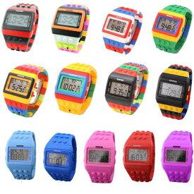 NEW カラー入荷 カラフル ウォッチ 腕時計 LED ユニセックス メンズ レディース 20色 スポーツ キッズ用にもおすすめ
