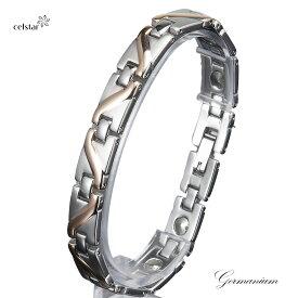 ROCK ROLL 11P 最高級品質 ゲルマニウム ブレスレット アクセサリー 健康 メンズ レディース プレゼントにも最適 ゴルフ 肩こり 健康 ギフト