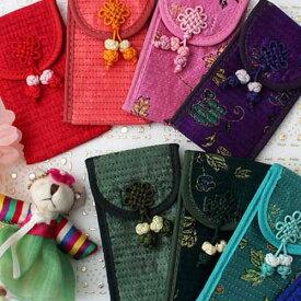 韓国雑貨 韓国伝統 韓国伝統雑貨 小物入れ 実用品 雑貨 財布 韓国 ハングル 母の日 ギフト