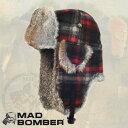 305WRD MAD BOMBER hat ロシア帽子 マッドボンバーハット ラビット ファー100% 帽子 スキー帽子 アメリカブランド 防…