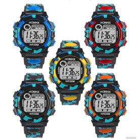 腕時計 スポーツ 子供用 腕時計 LED デジタル スポーツウォッチ 男の子 女の子 小学生 低学年 小学校 キッズ 卒業 入学 進学 防水 ジュニア ウォッチ