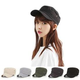 DM便送料無料 帽子 キャップ ワークキャップ レディース メンズ 男女兼用 シャンブレー ダック 無地 WORK CAP 帽子 ローキャップ