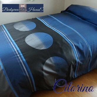 可沒有beddosupureddoshitorinosupein製造日本式樣提花機織可逆雙230*270 cm 1.2 kg超寬度布料&設計接縫的床罩飯店式樣多覆蓋物禮物給的禮物家庭洗衣