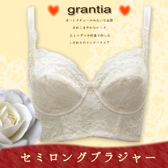 "Discerning ""purely domestic craftsman makeup"" revision underwear revolution grantia Grand tear semi-long hair brassiere"