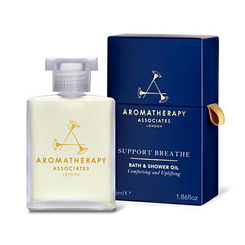 アロマセラピーアソシエイツ サポート ブリーズ バスアンドシャワーオイル 55ml【人気】【激安】【Aromatherapy Associates】【入浴剤・バスオイル】
