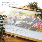 お気に入りの写真を送るだけ♪木製フレームオーダーメイドタペストリー「Katachi365(カタチ365)」