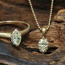 マーキス イエローダイヤモンド×ダイヤモンドペンダントトップ「ルイ」 誕生石 4月 ホワイトデー お返し