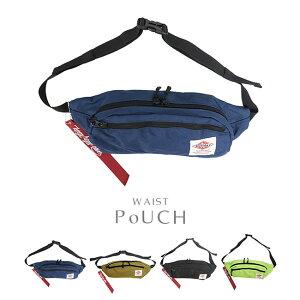 2WAY ボディバッグ ウエストポーチ 撥水加工 ヒップバッグ ウエストバッグ ランニングファニーバッグ はっ水 ロゴ マーク メッシュ ポケット レディース メンズ シンプル 斜めがけ 鞄 かばん