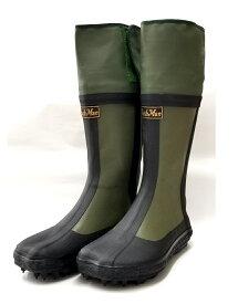 BushMan (ブッシュマン) フード付きスパイクたび 中割れハゼ付き/狩猟用ブーツ/ハンティングブーツ/スパイク足袋