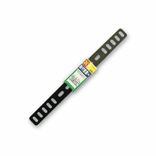 【エーモンG253】取付金具(黒)厚さ1.7mm25×300mm『バイクパーツセンター』