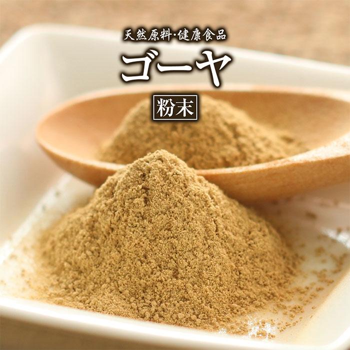 ゴーヤ粉末(100g)天然ピュア原料そのまま健康食品/ゴーヤ,ごーや,にがうり,ニガウリ
