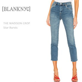 23afb028bb4d60 【SALE】BLANK NYC(ブランクニューヨーク)THE MADISON CROP Star Burstsハイライズ/