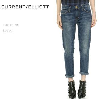 Current Elliott(电流爱略特)THE FLING Loved男朋友粗斜纹布/放松粗斜纹布