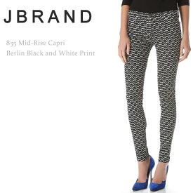 【SALE】J Brand(ジェイブランド・ジェーブランド)835 Mid-Rise Capri Berlin【送料無料】スキニー/カプリ/プリントデニム