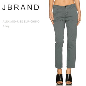 【SALE】J BRAND(ジェイブランド・ジェーブランド)ALEX MID RISE SLIM CHINO Alloyチノパン/チノ/コットン/カラー