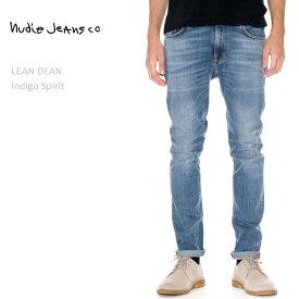 【SALE】 NUDIE JEANS ヌーディージーンズ LEAN DEAN Indigo Spiritヌーディージーンズ リーンディーン タイトストレート メンズデニム デニムパンツ ジーンズ nudie jeans co