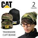 キャット 【CAT】 CATERPILLAR キャタピラー TRADEMARK CUFF BEANIE 1120117 ニット キャップ ニット帽 ビーニー 帽子…