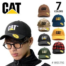 キャット 【CAT】CATERPILLAR キャタピラー TRADEMARK CAP W01791 帽子 メンズ レディース サイズ調節可能 ストラップバック キャップ フリーサイズ 人気 7color【あす楽】