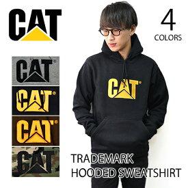キャット 【CAT】 CATERPILLAR キャタピラー Trademark Hooded Sweatshirt W10646 メンズ パーカー ロゴ プルオーバー フード 長袖 トップス 裏起毛 ワーク ストリート 人気 【あす楽】