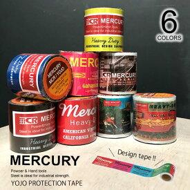 マーキュリー【MERCURY】YOJO-MCR プロテクションテープ ME0441 PROTECTION TAPE 養生テープ アメリカン雑貨 インテリア 雑貨 キッチン アウトドア 弱粘着 マスキングテープ テープ おしゃれ 【あす楽】