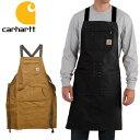 カーハート【carhartt】102483(103439) Firm Hand Duck Apron ダックエプロン BROWN BLACK エプロン ポケット...