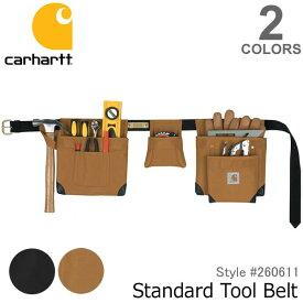 カーハート【carhartt】260611 Legacy Standard Tool Belt スタンダードツールベルト BLK/BRN エプロン ポケット 大工 作業着 DIY ブラック ブラウン【あす楽】