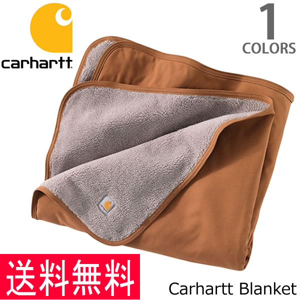 カーハート【carhartt】Blanket 101800 ブランケット アウトドア キャンプ ひざ掛け 毛布 ラグ 布団 ブラウン【あす楽】【送料無料】