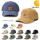 カーハート【carhartt】100289 ODESSA Cap Men's, Cotton Canvas Hat コットン キャップ カジュアル メンズ レディー…