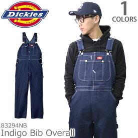 ディッキーズ【Dickies】インディゴオーバーオール 83294 INDIGO BLUE DENIM メンズ インディゴ つなぎ 作業着 デニム パンツ【送料無料】