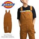 ディッキーズ【Dickies】ダックオーバーオール DB100 DUCK OVERALL メンズ レディース ダック オーバーオール ワーク…