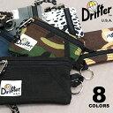 新色追加!【Drifter/ドリフター】KEY COIN POUC キー コイン ポーチ 8Color 単色 キーケース コインケース カードケ…