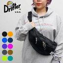 【Drifter/ドリフター】WAIST PACK ボディバッグ ウエストポーチ ウエストバッグ BAG 5color ファニーパック 旅行 ア…
