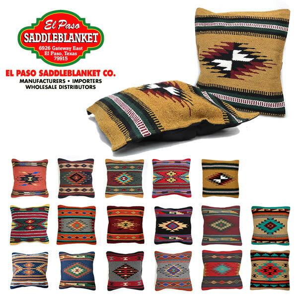 エルパソサドルブランケット【el paso saddleblanket】Azteca Accent Pillows Coversクッションカバー ピロー 枕 17Color ネイティブ柄 アジアン雑貨 ネイティブ柄