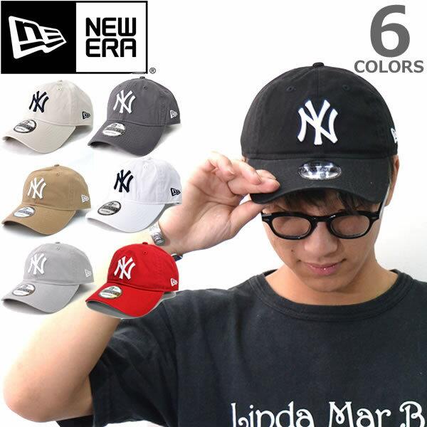 ニューエラ【NEW ERA】9TWENTY 920 ニューヨーク・ヤンキース ブラック ホワイト チャコール キャメル ベージュ ライトグレー 帽子 メンズ レディース【あす楽】