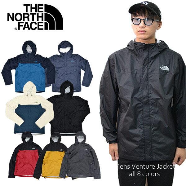 ザ・ノース・フェイス【THE NORTH FACE】Mens Venture Jacket NF0A3JPM ブルゾン ベンチャージャケット ナイロンジャケット JACKET アウター メンズ 人気 長袖 フード アウトドア 3Color US規格【あす楽】【送料無料】