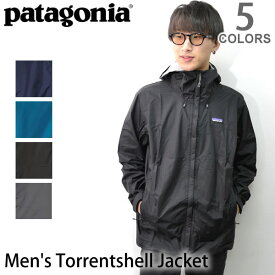 パタゴニア【patagonia】メンズ・トレントシェル・ジャケット Men's Torrentshell Jacket 83802 メンズ アウター トレントシェル ジャケット レギュラーフィット 防寒 雨具 レインコート 登山 フード【あす楽】【送料無料】