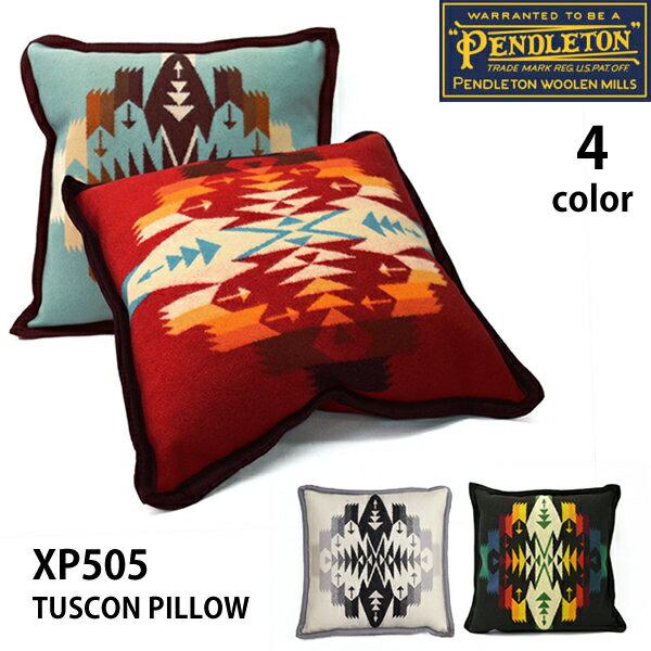 ペンドルトン【PENDLETON】TUSCON PILLOW XP505 ネイティブ柄 ピロー クッション チマヨ柄 プレゼント ペンデルトン【あす楽】