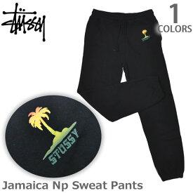 ステューシー【STUSSY】2951035 Jamaica Np Sweat Pants レディース スチューシー スウェット 裏起毛 パンツ stussy ボトム BLACK 人気【あす楽】