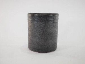 【信楽焼】【植木鉢】鉄イラボ切立 4号鉢【盆栽鉢 ミニ盆栽 陶器 植え替え 鉢 おしゃれ かわいい 園芸職人12cm】