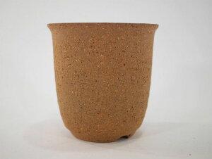 【信楽焼】【植木鉢】切立ラン 3号鉢【ミニ 小 3号 豆盆栽 ミニ盆栽 小さい 陶器 植え替え鉢盆栽鉢おしゃれかわいいサイズ】