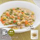 非常食サバイバルフーズ野菜シチューミートレス(大缶1号缶=約440g)[約10食分]【賞味期限2041年3月】